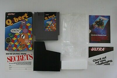 $ CDN65.96 • Buy Q*bert NES Game Box Nintendo Qbert