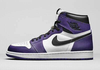 $269.99 • Buy Nike Air Jordan 1 Retro High OG Size 11. Court Purple Black White 555088-500