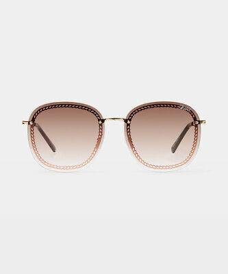 AU75 • Buy Quay Eyewear Jezabell Chain Sunglasses Gold
