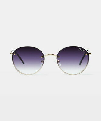 AU75 • Buy Quay Eyewear Farrah Sunglasses Gold/black Fade