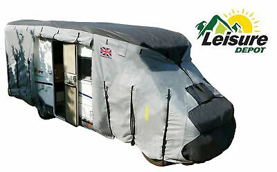 Leisure Depot 4 Ply Premium Motorhome Cover 5.7M To 6.0M Protection Waterproof  • 125.95£