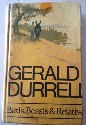 Birds, Beasts And Relatives, Gerald Durrell, Collins, Hardback Book		 • 119£