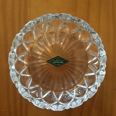 $35 • Buy Shannon Crystal Candy Dish Bowl Ashtray 5in