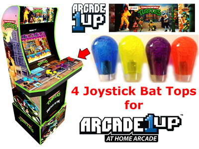 $19.95 • Buy Arcade1up Teenage Mutant Ninja Turtles TMNT 4X Joystick Bat Top Handles UPGRADE!