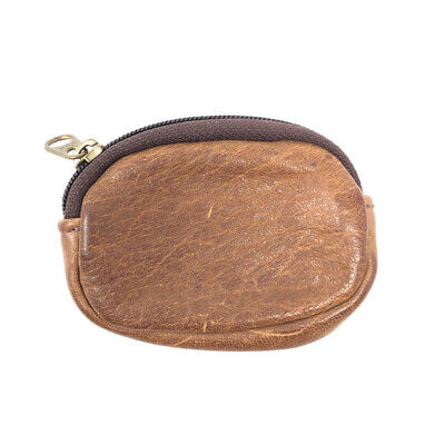 $6.99 • Buy Vintage Brown Leather Mini Coin Purse