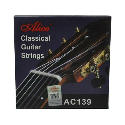 $ CDN15.18 • Buy Alice Classical Guitar Strings Hard Tension Titanium Nylon Silver Plating AC139H