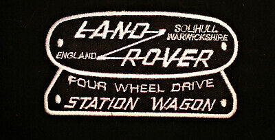 1970s - Land Rover Station Wagon -  Iron / Sew On Patch - No1271 • 2£