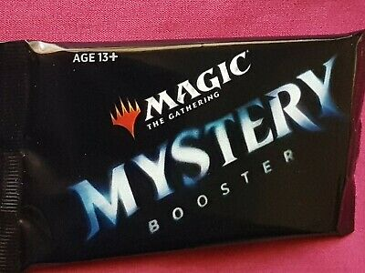 AU17.50 • Buy Magic The Gathering MYSTERY New Sealed Booster Pack MTG