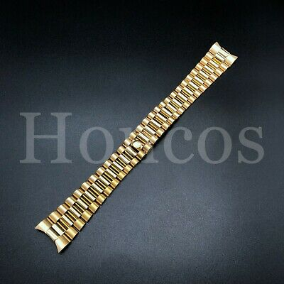 $ CDN33.96 • Buy 20mm  Gold President Watch Band For 36mm Rolex Day Date 1801 1802 1803 1805
