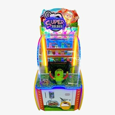 BRAND NEW - Coin Operated Super Soldier Ball Shooting Arcade Game Machine £1 £2 • 1,397£