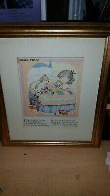 Mabel Lucie Atwell Print Dear  Fido • 11.99£