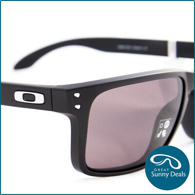AU134 • Buy NEW Oakley Holbrook XL Matte Black Warm Grey (9417-01) Sunglasses