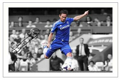 £1.89 • Buy Frank Lampard Chelsea Signed Photo Print Autograph Soccer