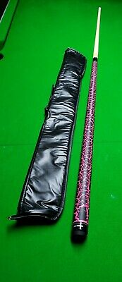 AU126.93 • Buy Pink Thunder Crackle Pool Cue 9 Ball Free Case