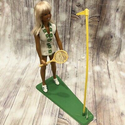 $39.99 • Buy Vtg 1974 KENNER DUSTY Doll Original Tennis Set Outfit Shoes Tan Sport Complete