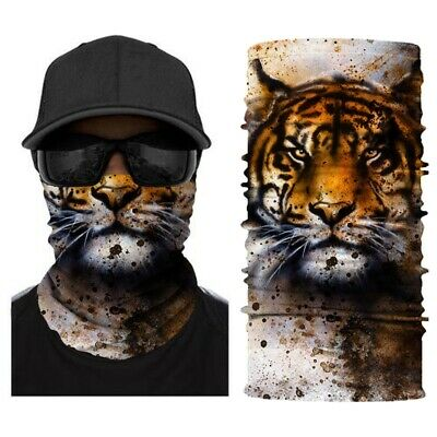 $12.69 • Buy Seamless Face Tube Bandanas Multifunctional Headwear Mask Neck Gaiter, Animal