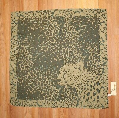 $6.99 • Buy New Collection XIIX Leopard Print Square Bandana Scarf Nwt #CE26