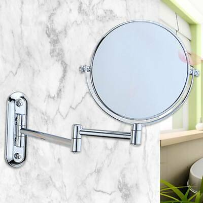 £15.99 • Buy 10X Magnifying Round Double-side Mirror Wall Mounted Make Up Shaving Bathroom