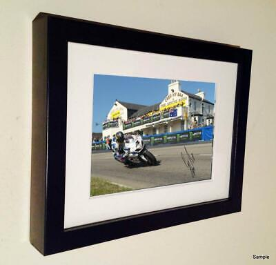 Ltd Edition Signed Guy Martin 2014 Isle Man TT Autographed Photograph Picture 3 • 20£