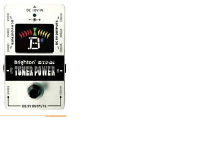$ CDN50.74 • Buy Brighton Guitar Pedal Tuner With Power Distribution