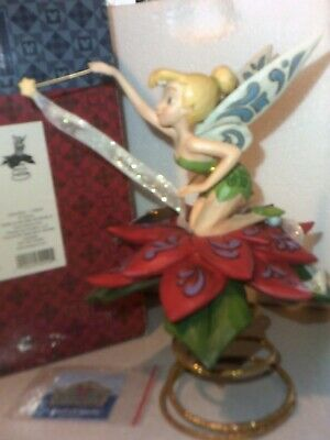 $229.99 • Buy Disney Traditions Jim Shore TINKERBELL TREE TOPPER A Touch Of Sparkle NIB RARE