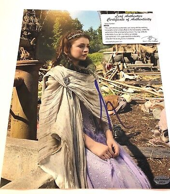 $ CDN27.23 • Buy Sarah Bolger Signed 8x10 Photo Autographed LEAF AUTHENTIC Once Upon A Time