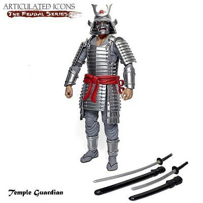 $ CDN63.42 • Buy Fwoosh Articulated Icons Feudal Series Temple Guardian 6  Figure