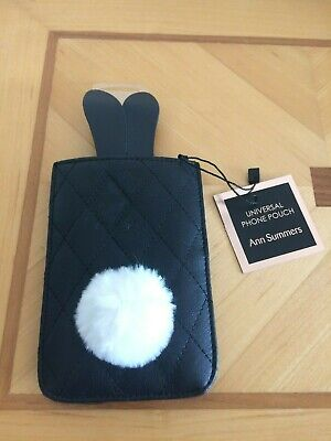 BNWT Ann Summers Universal Phone Holder Black Rabbit Ears Bunny Present  • 6.99£