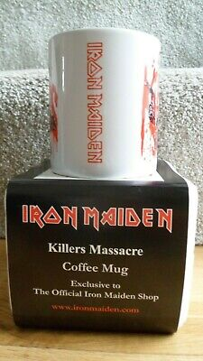Iron Maiden - Killers Massacre - Official Coffee Mug (2012) • 20£
