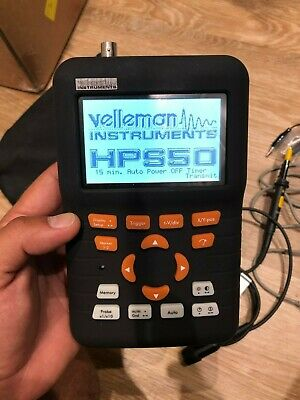 Velleman Handheld Personal Scope With Usb,hps50, Made In Usa • 200£