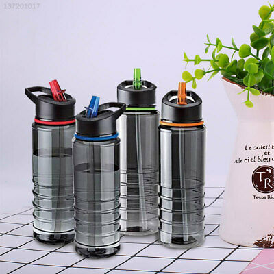 Straw Drinks Water Bottle Tool Hiking Fashion Sports Glasses 750ML New Bicycle • 5.99£