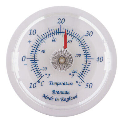 £3.98 • Buy Brannan 65mm Slate Blue Dial Thermometer C&f Ideal For Home & Garden - 30/408/3