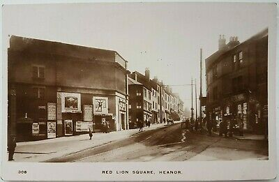 Red Lion Square, Heanor. Showing Empire Theatre. N 308. Postcard. • 14£