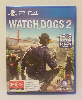 AU16.99 • Buy Watch Dogs 2 - PS4 Game (PlayStation 4) - Complete. Excellent Condition.