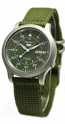 $ CDN110 • Buy Seiko 5 SEIKO MILITARY Nylon SNK805K2 Watch