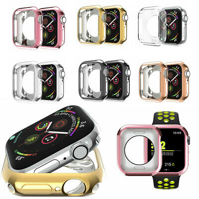 $ CDN9.22 • Buy For Apple Watch Series 4 3 2 1  Protective Case Cover For IWatch 38/42/40/44mm