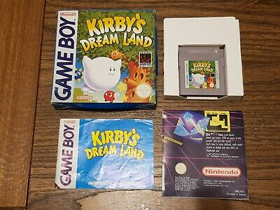 AU68.95 • Buy Nintendo Game Boy - Kirby's Dream Land (Aus Pal)