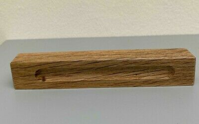 £3.25 • Buy Solid Oak Wooden Handle Chunky Premium Quality For Furniture Cabinets Drawers