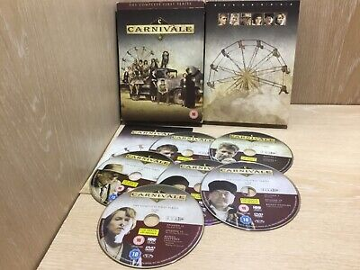 Carnivale The Complete First Series / Season 1 DVD Boxset Watched Once • 8.99£