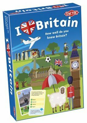 I Love Britain Quiz Game - How Well Do You Know Britain? • 14.99£