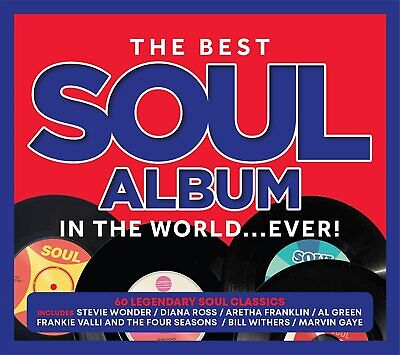 £2.89 • Buy The Best Soul Album In The World... Ever! [Audio CD] Various Artists New Sealed