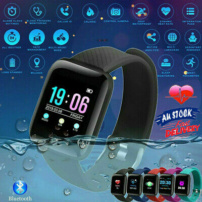 AU21.99 • Buy Bluetooth Smart Watch Wrist Phone Call Touch Screen For Android IOS Waterproof