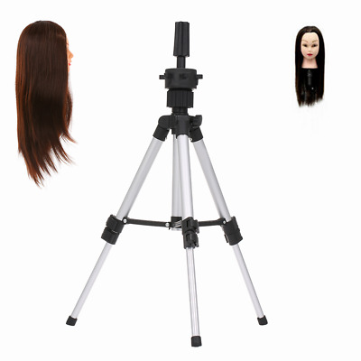 $12.99 • Buy Tripod Stand Metal Adjustable Cosmetology Hairdressing Training Mannequin Head
