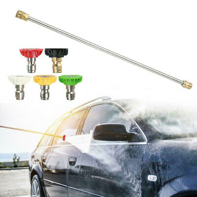 New Gas/Gasoline High Pressure/Power Washer Wand/Lance+Nozzle 4000PSI Universal • 13.71£
