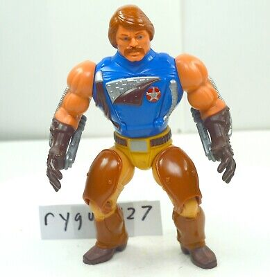 $45 • Buy MOTU, Rio Blast, Masters Of The Universe, Figure, With Guns, He Man, Vintage