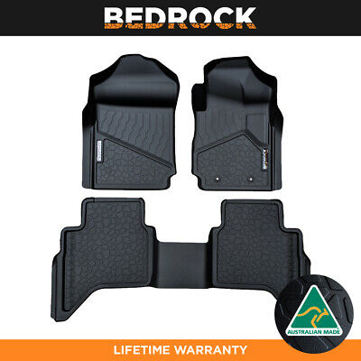 AU199.95 • Buy BEDROCK Liners For Ford Ranger PX | PX2 | PX3 2012-New Ute Car Floor Mats 3D