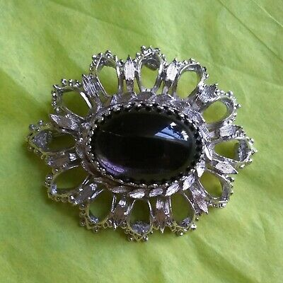 $29 • Buy Vintage Emmons Brooch In Mint Condition Silverstone Sister Co To Sarah Coventry