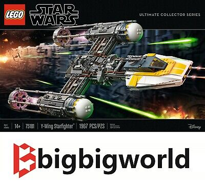 AU439.99 • Buy LEGO 75181 Star Wars Y-Wing Starfighter BRAND NEW SEALED BOX | MELBOURNE STOCK