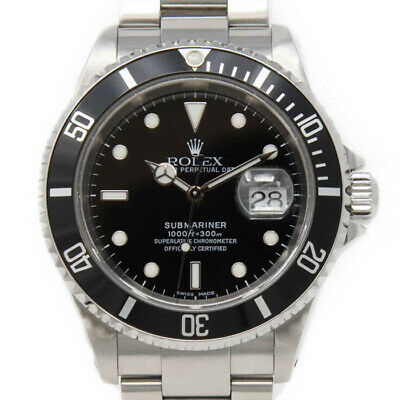 $ CDN13686.45 • Buy Rolex Submariner 16610 Men's Stainless Steel Automatic Black 1 Year Warranty