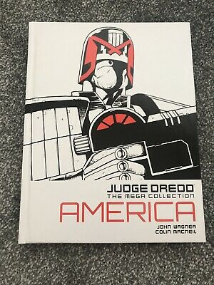 BN Judge Dredd Mega Collection Issue 1 America Land Of The Free ?  Graphic Novel • 12.95£